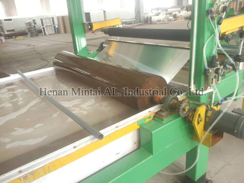 degreasing  line of the color coated aluminum coil